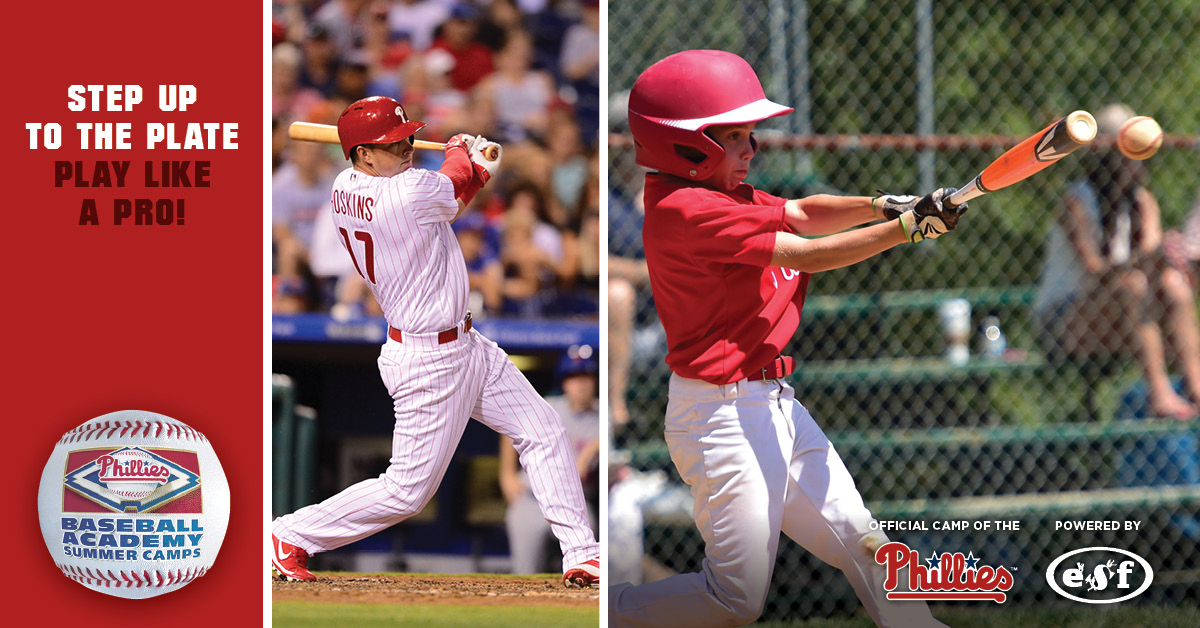save the date phillies baseball academy family orientation